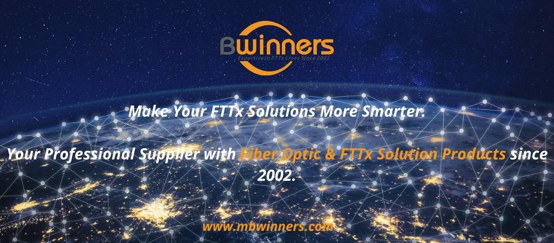 Professional Supplier with Fiber Optic & FTTx Solution Products