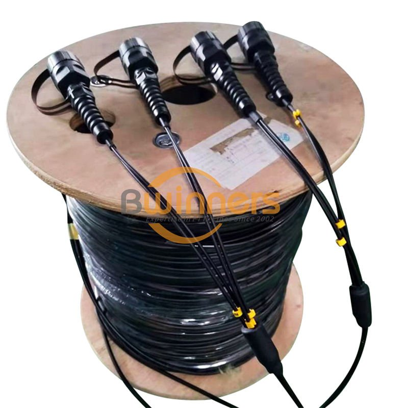 Outdoor ODVA Armored Patch Cord