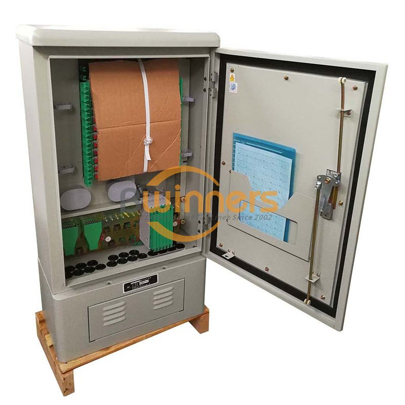 fiber Optic Cable Cross Connect Cabinet